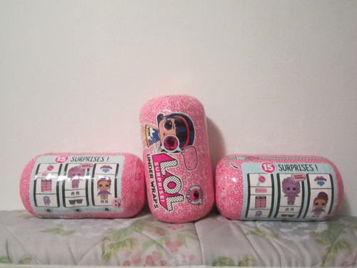 muñecas lol surprise capsula