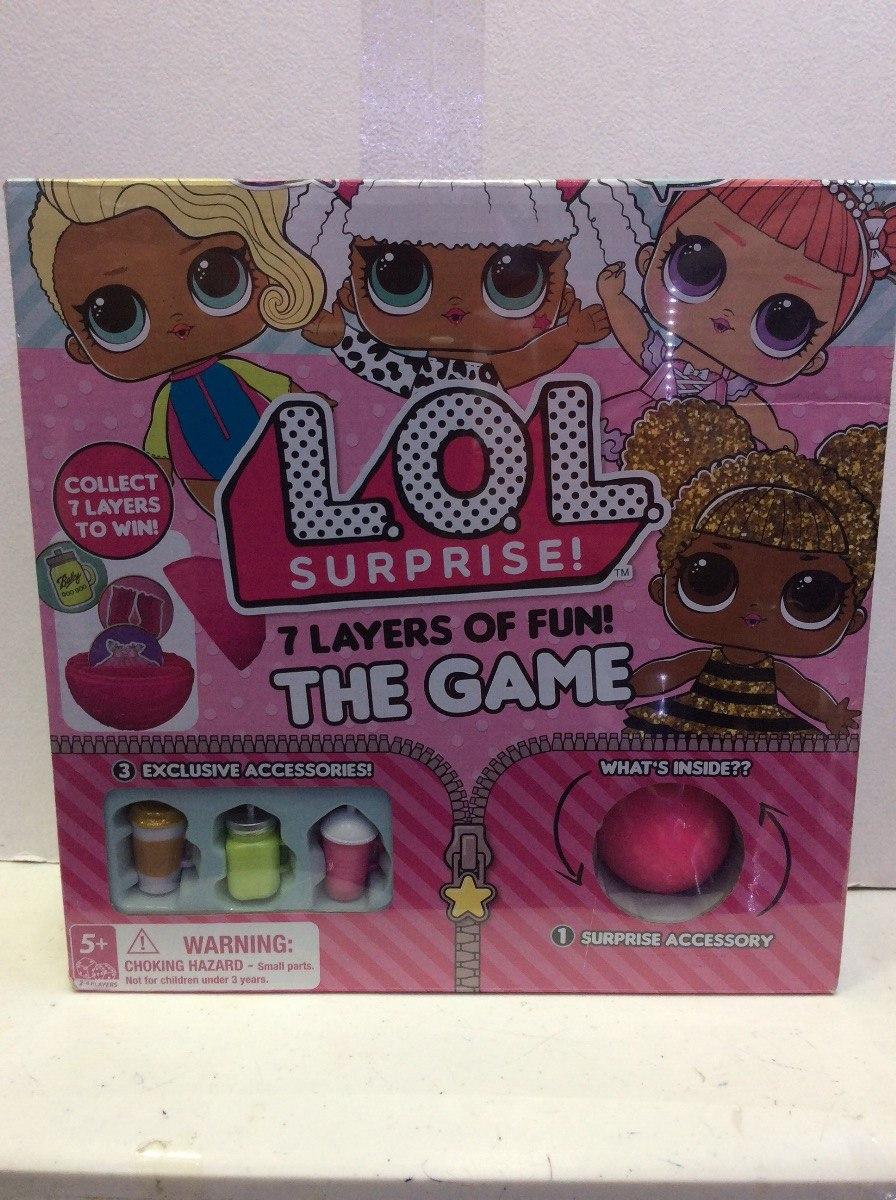 Munecas Lol Surprise Glitter Series Juego De Mesa 899 00 En
