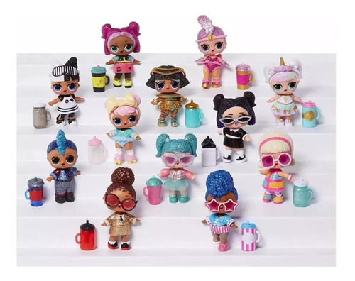 muñecas lol surprise glitter sparkle serie 6 con envío