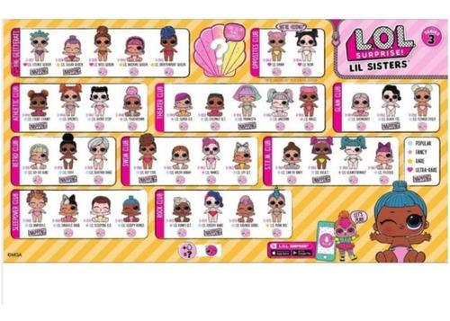 muñecas lol surprise lil sisters serie 3 - full