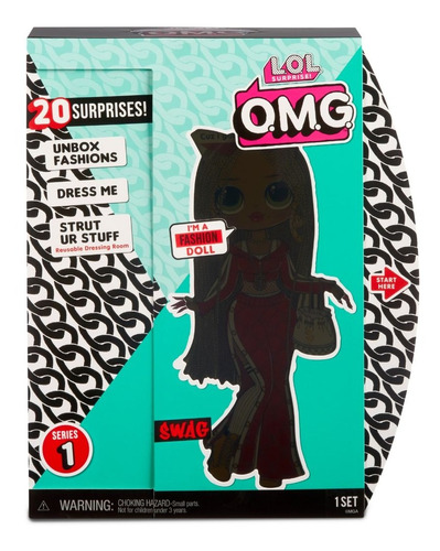 muñecas lol surprise top secret omg swag