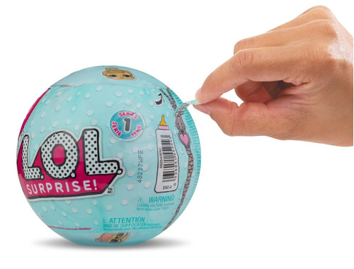 muñecas lol surprise tot ball originales r1785