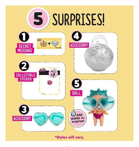 muñecas lol surprise x3 sorpresa lil sisters original wabro