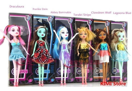 muñecas monster high, ideal para regalo, de remate