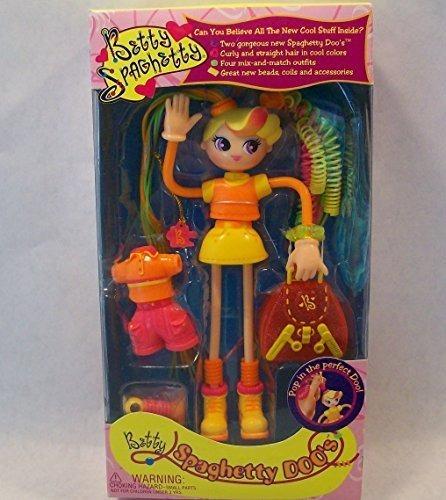 muñecas muñeca de betty spaghetty doo