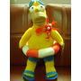 Homero Simpson Playero The Simpsons Fox Nanco Muñeco Peluche