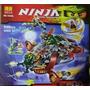 Ninja Marca Bela, 546 Piezas Super Avion Giratoria Lego
