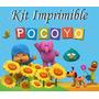 Kit Imprimible Pocoyo Invitaciones Tarjetas Frames Marcos
