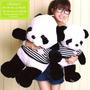 Peluches Oso Panda Aini Toys 80y60cm - Listos Para Obsequiar