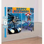 Batman - Decoración De Pared Para Fiesta Infantil