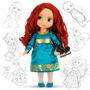Disney Muñeca Animators Merida Valiente De Colección