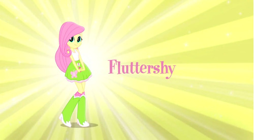 muñecas my little pony equestria girls fluttershy niñas