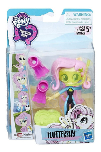 muñecas my little pony equestria girls mini fluttershy(1420)