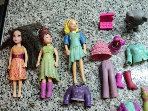 muñecas polly pocket accesorios