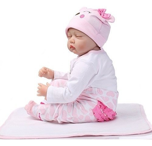 muñecas reborn baby de 22 pulgadas, calidad realistic handma