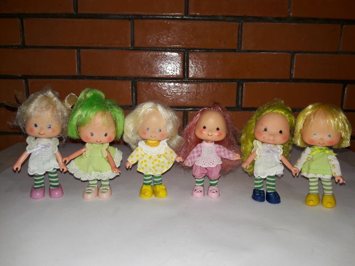 Munecas Rosita Fresita Vintage Buen Estado Lote 6 Figuras