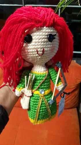 muñecas tejidas crochet merida