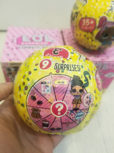 muñecas tipo lol surprise serie 3 confetti pop aaa leer
