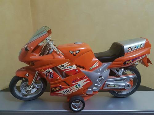 muñeco action man con moto espectacular estado