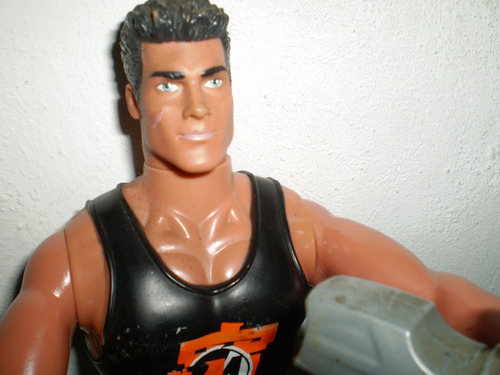 muñeco action man original y max steel