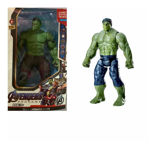 muñeco advanger hulk cod. 105