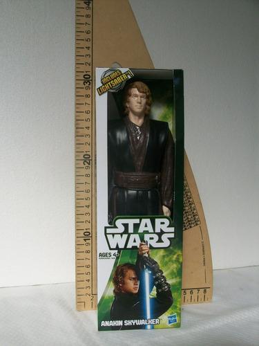 muñeco anakin skywalker - original hasbro de 30 cm.