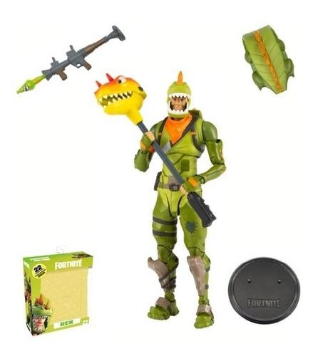muñeco articulado fortnite - rex