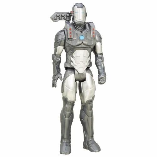 muñeco articulado marvel titan hero war machine 30cm hasbro