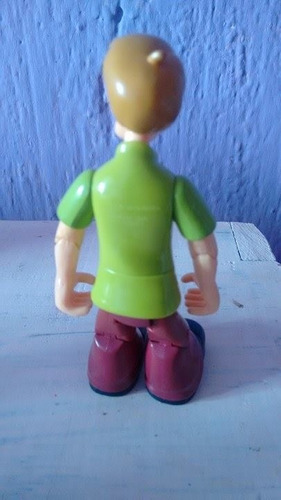 muñeco articulado shaggy scooby doo coleccionable hanna