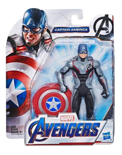 muñeco avengers endgame capitan america 16 cm (1321)