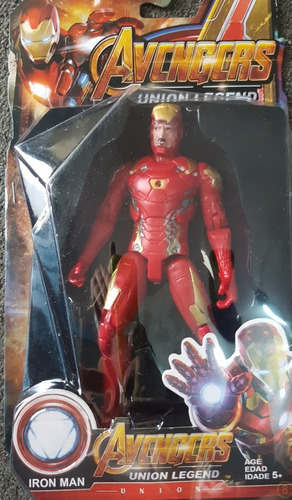 muñeco avengers thor hulk iron man capitan america