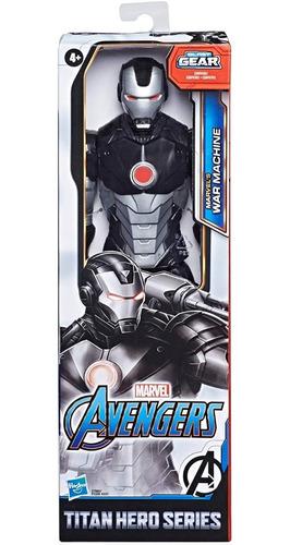 muñeco avengers war machine traje de ironman 30cm hasbro
