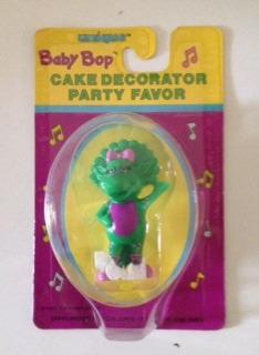muñeco baby bop para decorar tortas
