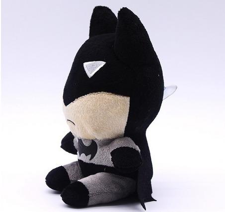 muñeco batman de peluche 18 cm apto para todas las edades