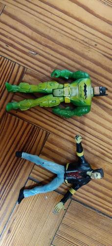 muñeco batman verde (set de dos personajes)