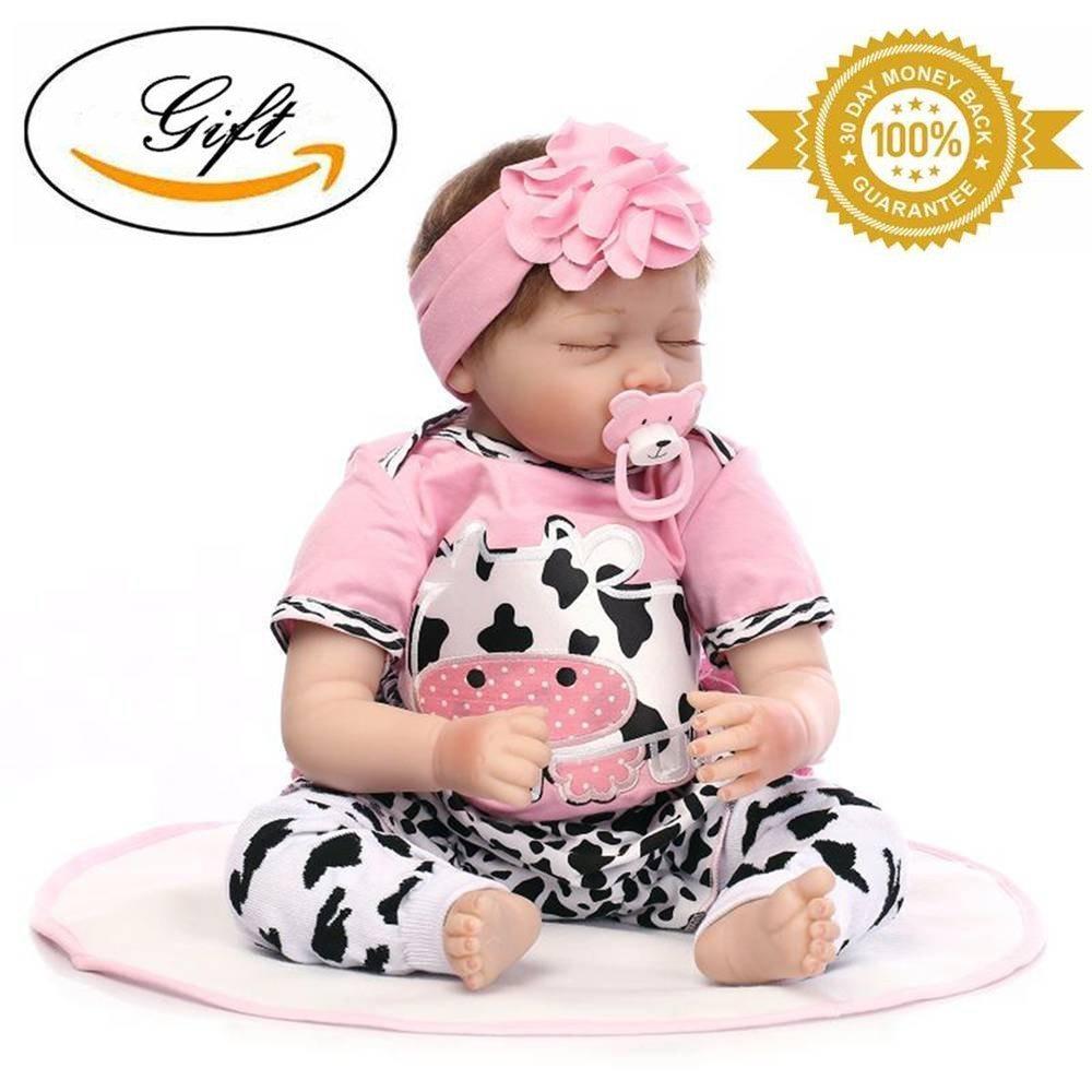 b2f53f8cece9 Muñeco Bebe Dormir Reborn Baby Doll Chica Real 22 Inch - $ 482.100 ...
