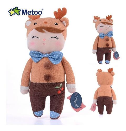 muñeco brown deer - metoo angela 34 cm