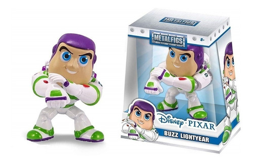 muñeco buzz lightyear 10cm die cast metal jada toys