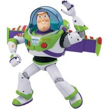 muñeco buzz lightyear power up con luces y voz 30cm original