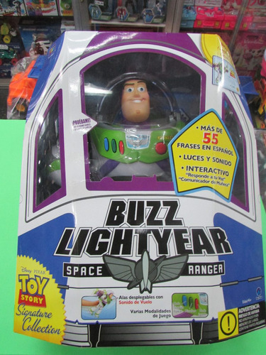 muñeco buzz lightyear space ranger toy story. nuevo original