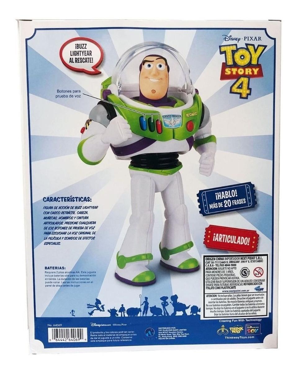 Muñeco Buzz Lightyear Toy Story 4 Habla Español 20 Frases
