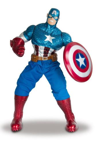 muñeco capitan america avengers marvel 55cm