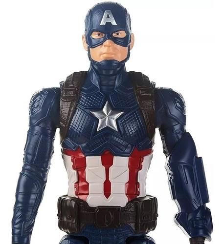 muñeco capitan america avengers titan hero fx hasbro piu