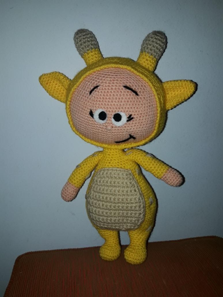 Jirafa patrón de ganchillo amigurumi de Little Bear Crochets | 1032x774