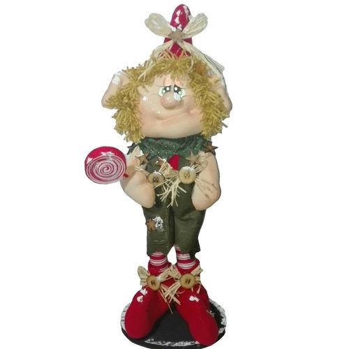 muñeco country duende paleta 59 cm navidad regalo amor