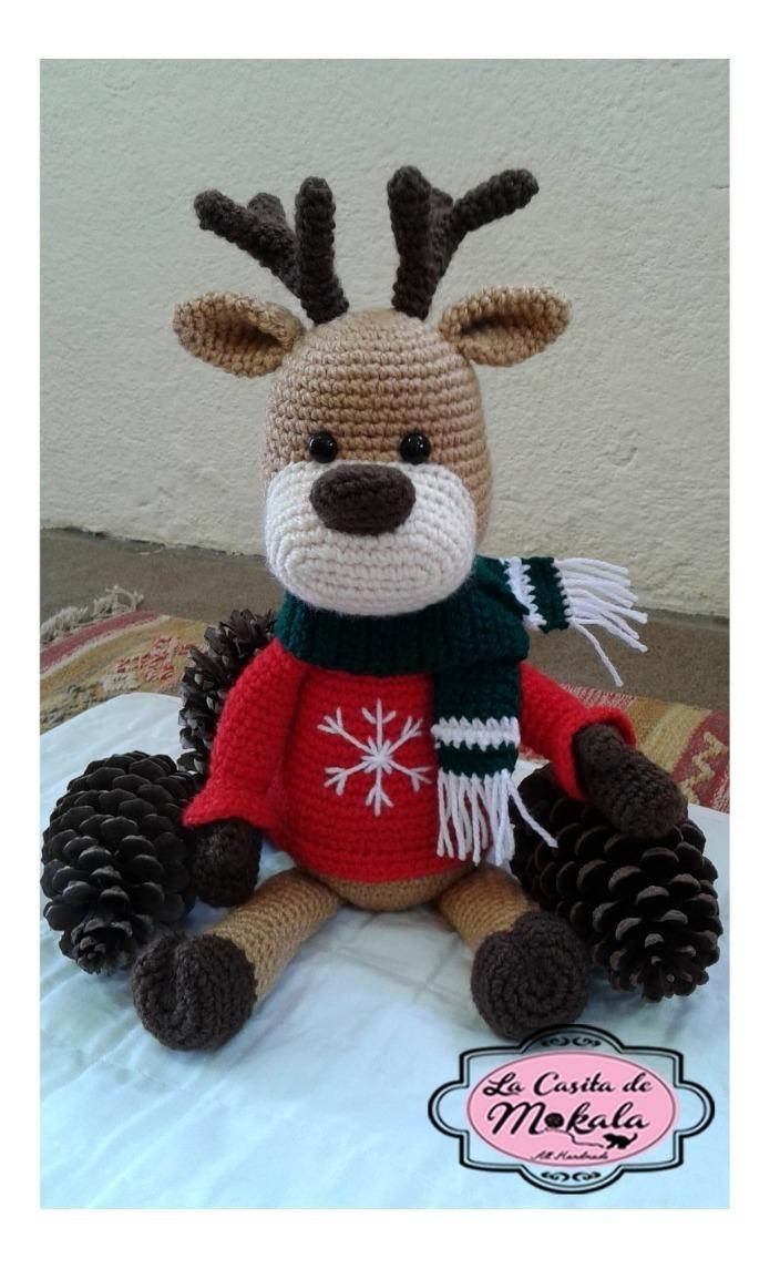 Cómo hacer adorables amigurumis para navidad - Amigurumi navideño ... | 1145x704