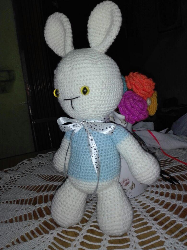 muñeco crochet venta por unidad. Cargando zoom. 95a770a7b14