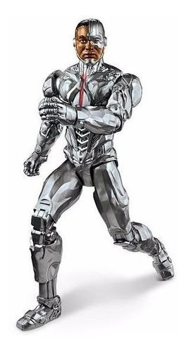 muñeco cyborg dc justice league mattel  fgg82