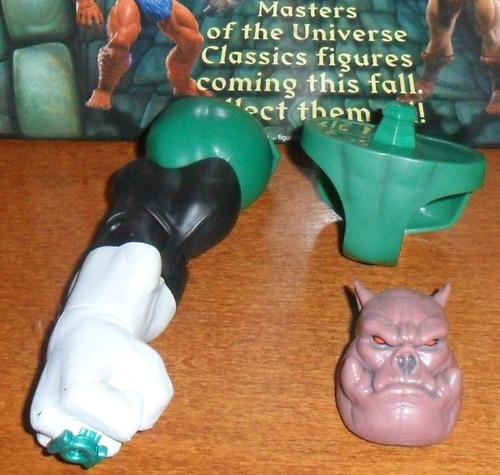 muñeco dc universe classic dcuc baf green lantern kilowog