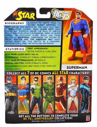 muñeco dc universe classics: wave 13 superman